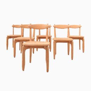 Chair by Guillerme Et Chambron for Votre Maison