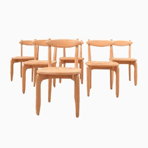 Stuhl von Guillerme Et Chambron für Votre Maison