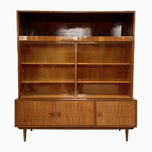 Vintage Cabinet with Interior Lighting