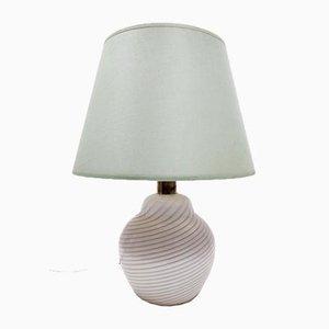 Murano Glas Tischlampe von Lino Tagliapietra für Paf, Italien, 1980er