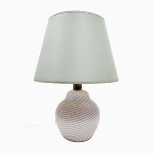 Murano Glass Table Lamp by Lino Tagliapietra for Paf, Italy, 1980s