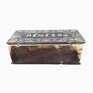 Lackierte Reliquiar Box
