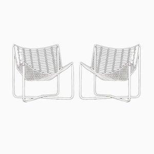 Postmoderne Jarpen Armlehnstühle von Niels Gammelgaard für Ikea, 1980er, 2er Set