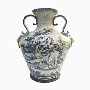 Vase in Savona Maiolica