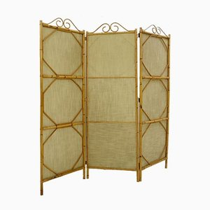 Bamboo 3-Panel Screen or Room Divider