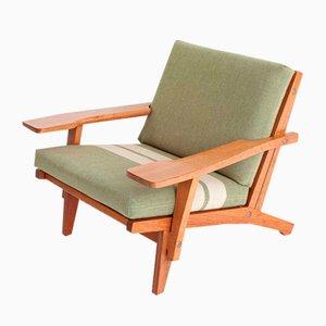 GE 370 Easy Chair by Hans J. Wegner for Getama