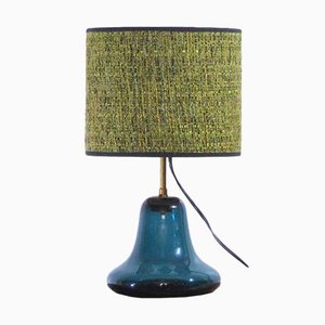 Claude Morin Table Lamp in, 1978 Blown Glass