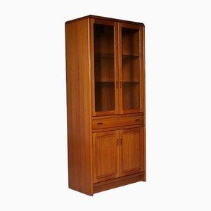 Danish Teak & Glass Showcase Cabinet from KLIFA Mobler