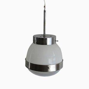 Italian Model Delta Ceiling Lamp by Sergio Mazza for Artemide, 1960s