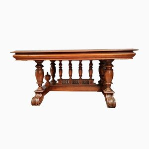 Renaissance Table in Walnut, 1850s