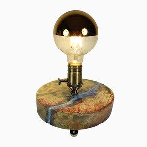 Raku Ceramic Lamp Holder by Marco Fulgeri