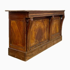 Vintage Wooden Shop Counter