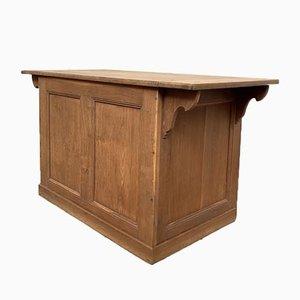 Vintage Oak Counter, 1950s