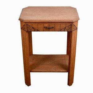 Art Deco Tisch aus Eiche