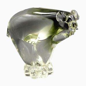 Murano Glass Polar Bear by Alfredo Barbini
