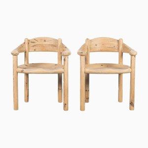 Dänische Seifenholz Stühle von Rainer Daumiller, 1970, 2er Set