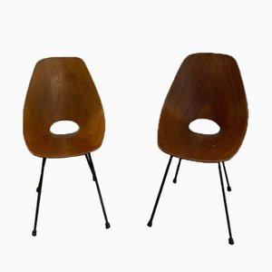 Medea Chairs by Vittorio Nobili, Set of 2