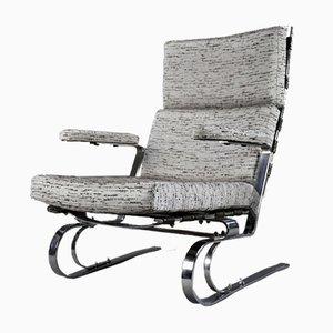 Mid-Century Modern Sessel in Grau