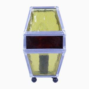 Tischlampe aus Glas von Erik Bergström, 1960er