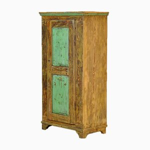 Antique Pine Cabinet, Moldova, 1910s
