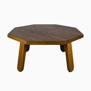 Brutalistischer Tisch aus Eiche im Stil von Dittmann & Co, 1960er