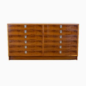 Dorrington Yew Chest of Drawers by Robert Heritage for Archie Shine, 1960s