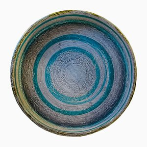 Stoneware Bowl by Aldo Londi, Italy, 1960s