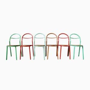 Stühle von René Herbst für Mobilor, 6er Set