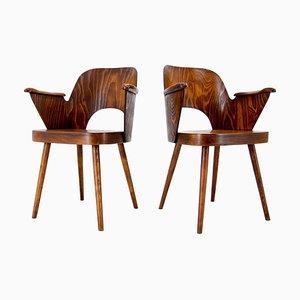 Armchairs by Oswald Haerdtl, 1950s, Set of 2