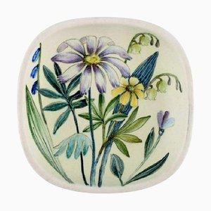 Schale aus glasierter Keramik von Carl Harry Stålhane für Rörstrand