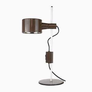 Table Lamp in Brown by Peter Nelson & Ronald Holmes, 1960s