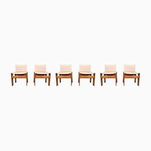 Monk Stühle von Afra & Tobia Scarpa für Molteni, 1970er, 6er Set