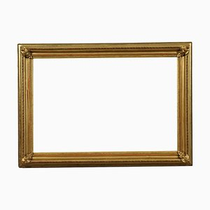Gilded and Engraved Frame, Italy, 19th Century