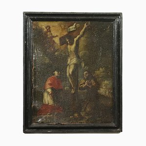 Christ Crucified between St. Charles Borromeo and St. Francis