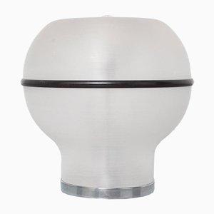 Brushed Acrylic Mushroom-Shaped Table Lamp
