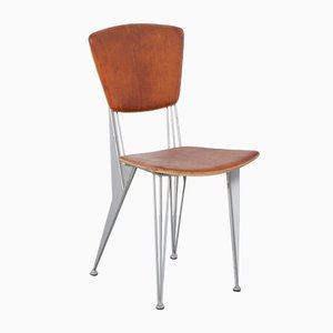 Brown T/38 Chair by Studio Archirivolto for Fasem