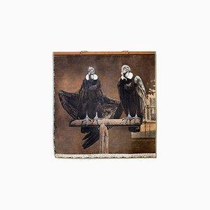 Póster vintage de dos cóndores, 1916