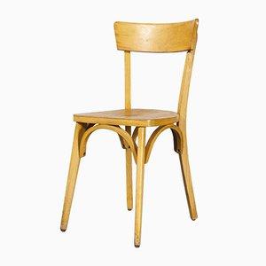 Französische Esszimmerstühle aus Bugholz, 1950er, 6er Set