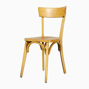 French Bentwood Dining Chairs, 1950s, Set of 6