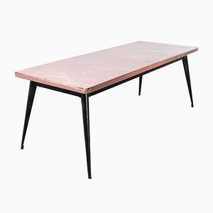 French T55 Rectangular Dining Table, 1950s