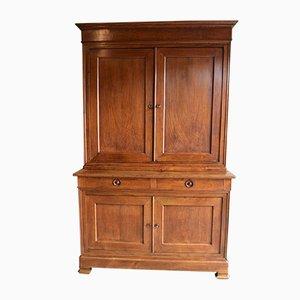 Antique Louis Philippe Oak Buffet Cabinet