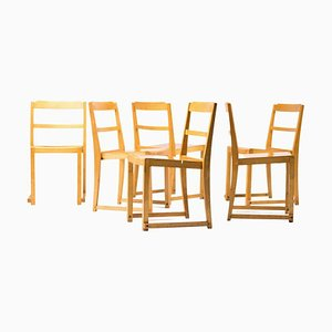 Helsingborg Theater Chairs by Sven Markelius, Set of 6