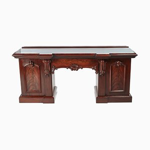 Antique Victorian Carved Mahogany Sideboard