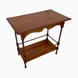 Antique Edwardian Mahogany Lamp Table