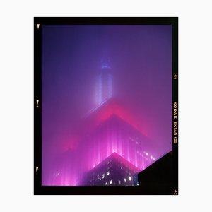 Nomad V (Film Rebate), New York, Conceptual Architectural Color Photograph, 2017