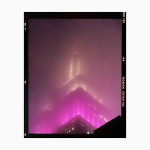 Nomad IX (Film Rebate), New York, Conceptual Architectural Color Photograph, 2017