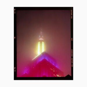 Nomad VII (Film Rebate), New York, Conceptual Architectural Color Photograph, 2017