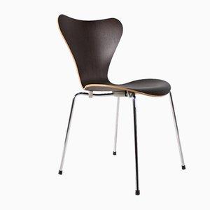 Chaises de Salle à Manger Modèle 3107 par Arne Jacobsen & Fritz Hansen, Set de 6