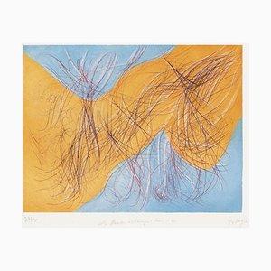 Tr9005 - Les fleurs échangent leurs rives by Jean Messagier