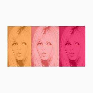 Pink Bardot Triptych, 2020